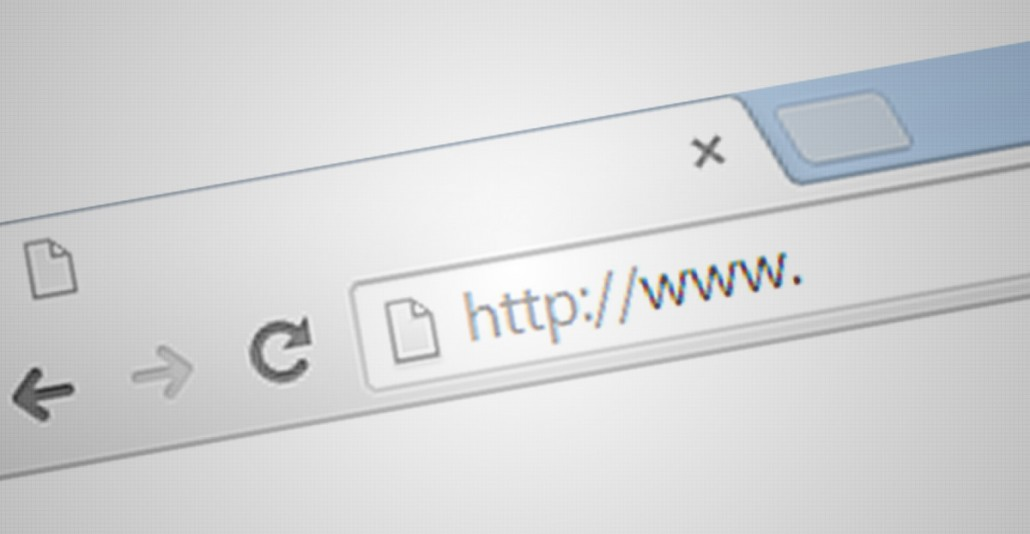 URL on browser